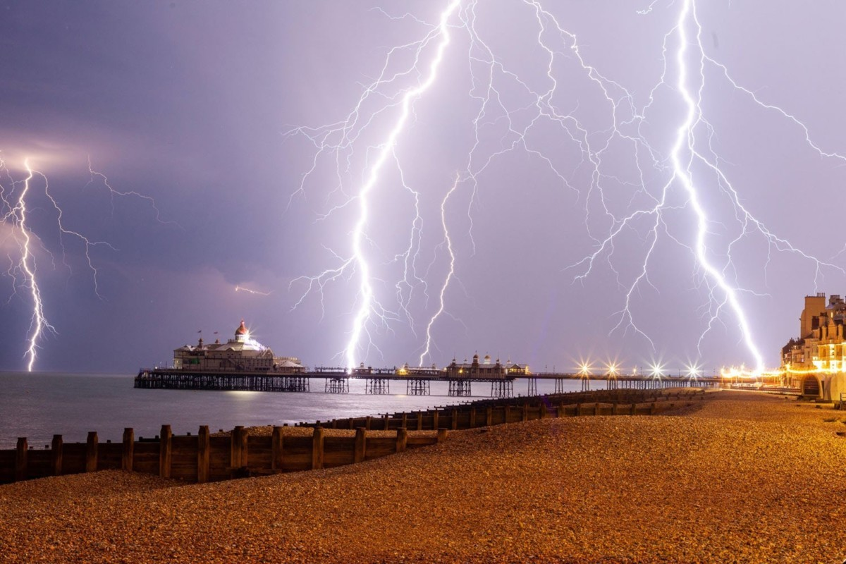 What are the odds of being struck by lightning?